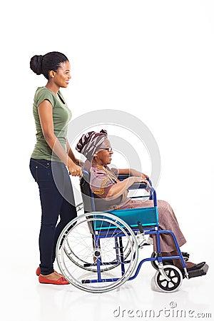 African woman grandmother