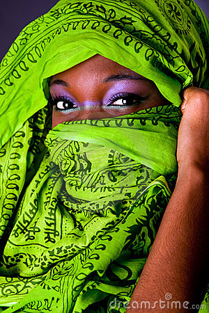Free African Woman With Scarf Royalty Free Stock Photography - 10493437