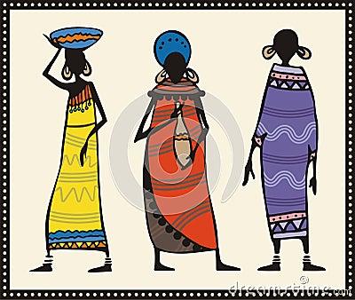 African Women Set