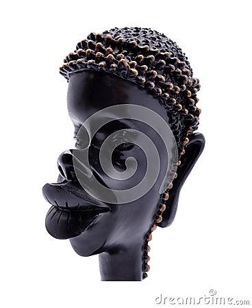 African women statue