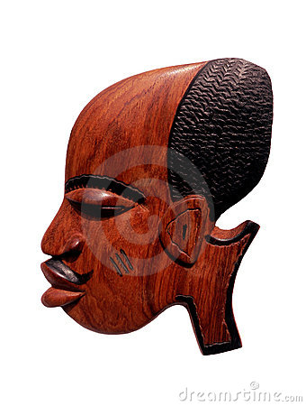Free African Wood Carving Royalty Free Stock Images - 519849