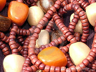 African Wooden Beads