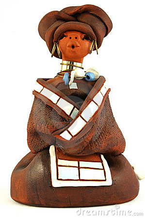 Free African Xhosa Doll Stock Image - 2950221