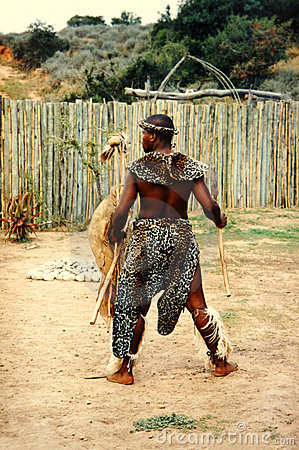 Free African Zulu Man Royalty Free Stock Photography - 2438547
