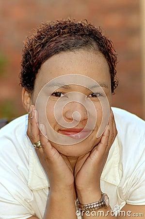 Afrikaans gezicht