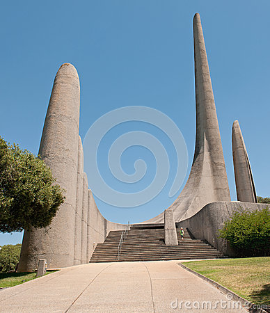 Free Afrikaans Language Monument In Paarl Stock Photography - 53104822