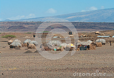 Afrikaanse hutten