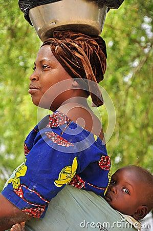 ruw Afrikaanse rood haar in Kampen