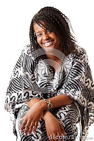 Afrikanische Kleidung-Art und Weise