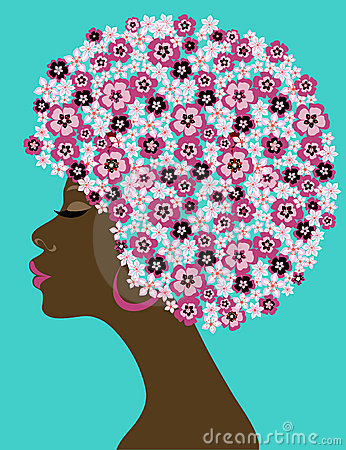 Free Afro-American Beauty Woman Stock Photography - 13069022