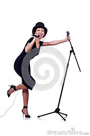 Afro-american female singer