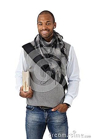 Afro-American university student