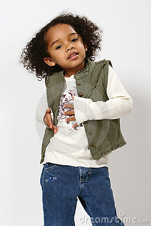 Afro - amerykanów dziecko
