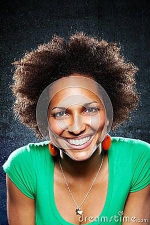 Afroamerican Woman Portrait