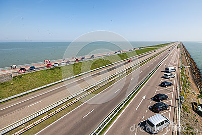 Afsluitdijk Editorial Photography