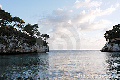 Afternoon  of  December on the coast of Mallorca