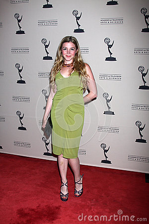 Afton Boggiano arrives at the ATAS Daytime Emmy Awards Nominees Reception Editorial Image