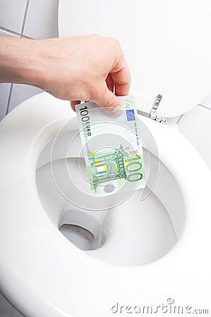 Afval van geld