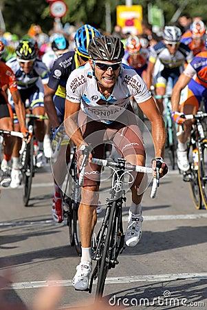 AG2R La Mondiale cyclist Italian Rinaldo Nocentini Editorial Image