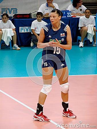 Agata Sawicka, Polish volleyball team Editorial Photo