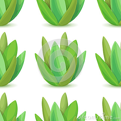 Free Agave - Vector Seamless Pattern Stock Image - 77830931