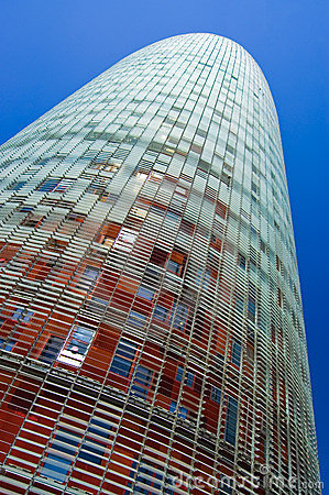 Agbar Kontrollturm, Barcelona