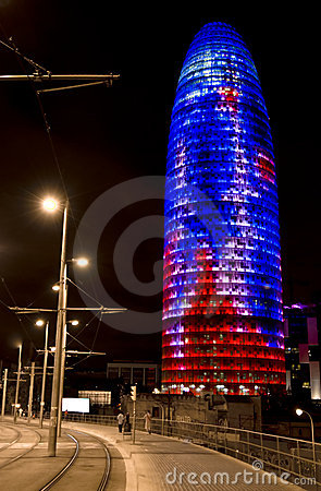 Agbar tower Editorial Stock Image