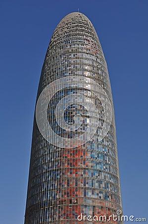 Agbar Tower Barcelona Spain