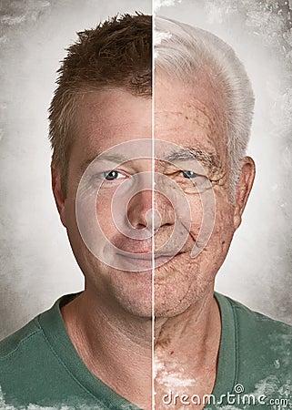 Age face concept