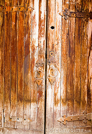Free Age-Old Door Royalty Free Stock Photography - 1203847
