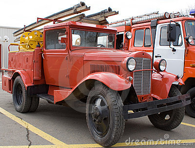 Age-old fire-engine