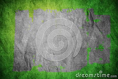Aged green wallpaper