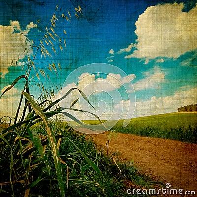 Free Aged Landscape Stock Image - 3602691