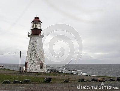 Aged lighthouse
