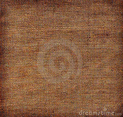 Aged linen fabric