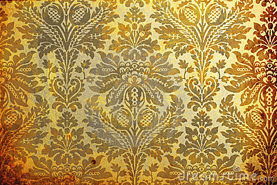 Aged wallpaper