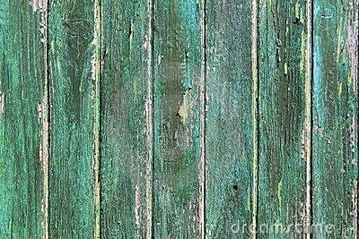 Aged weathered green wooden paint door textures