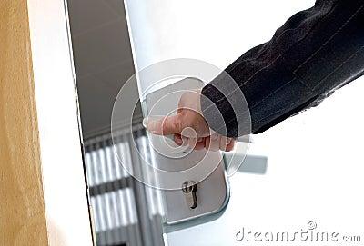 Agency door