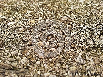 Aggregate Rock Texture
