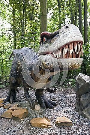 Aggressive dinosaur