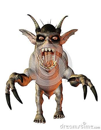 Aggressive evil creature