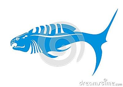 Aggressive fish