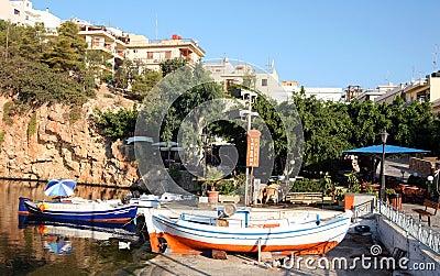 Aghios Nikolaos lake, Crete