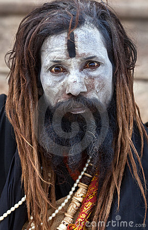 Aghori sadhu Editorial Stock Photo