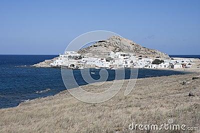 Agia Anna in Mykonos island, Cyclades, Greece