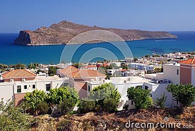 Agia Marina view