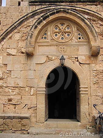 Agia Napa Church Door