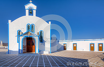 Agia Paraskevi church, Milos island, Greece