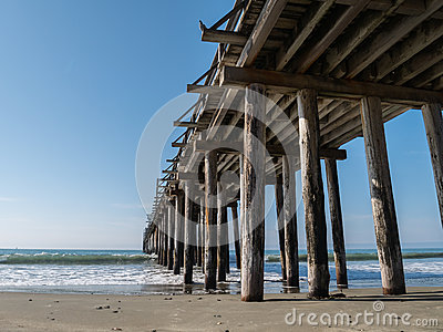 Aging pier structure