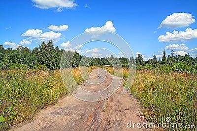 Aging rural road